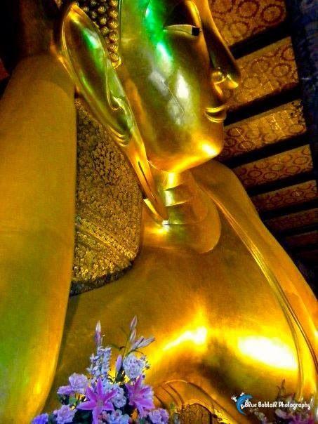 Wat Pho, Bangkok - the reclining Buddha