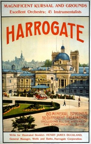 Harrogate travel poster, c.1909