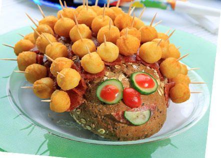 Προϊόντα πατάτας με βάση τον πουρέ
