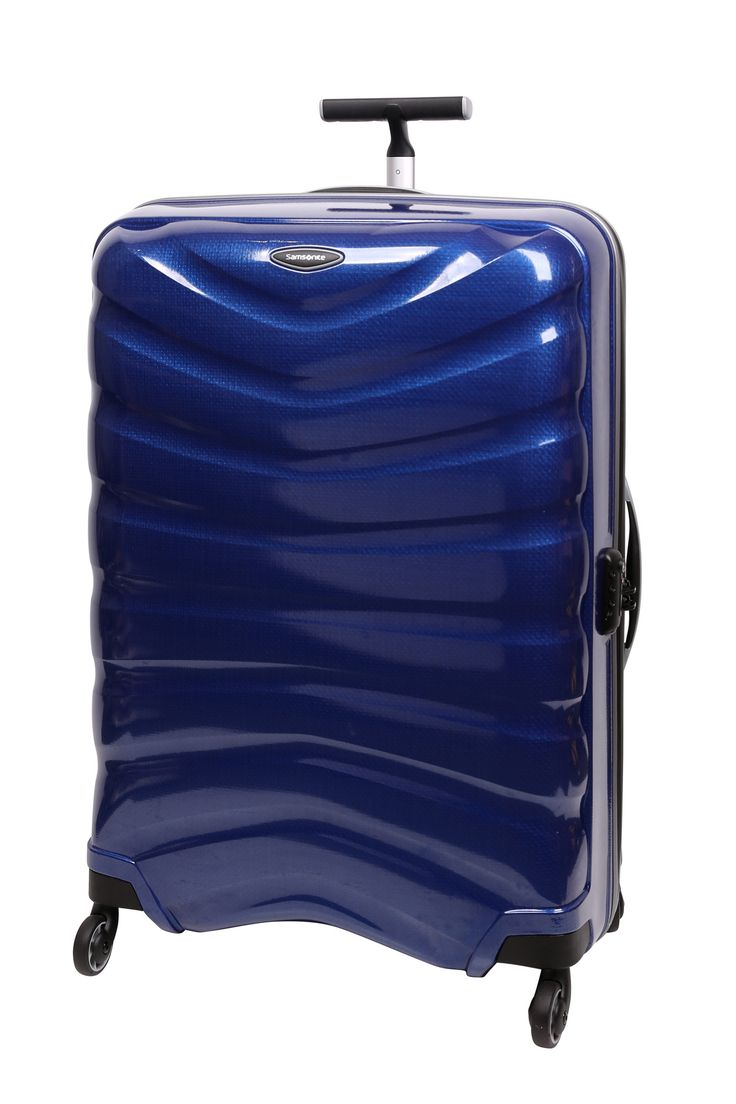 Samsonite // Firelite 81cm Spinner Case. Also available in red and charcoal.