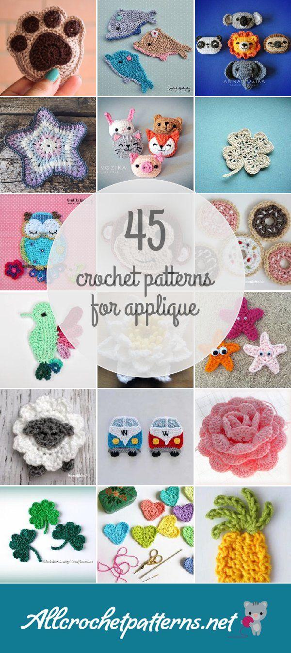 Crochet Patterns For Applique | crochet | Pinterest