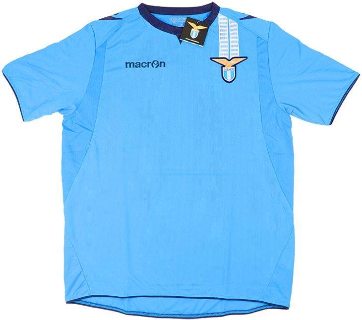 2013-14 Lazio Macron Training Shirt *BNIB* - Training - Clearance - Classic Retro Vintage Football Shirts