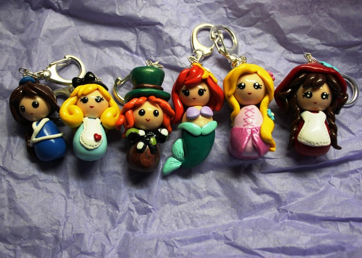 how to make clay disney characters