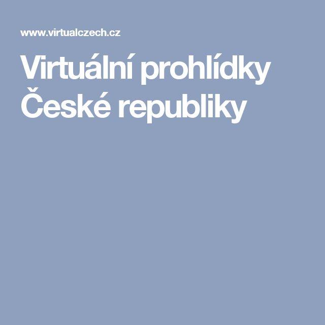 Virtuální prohlídky České republiky