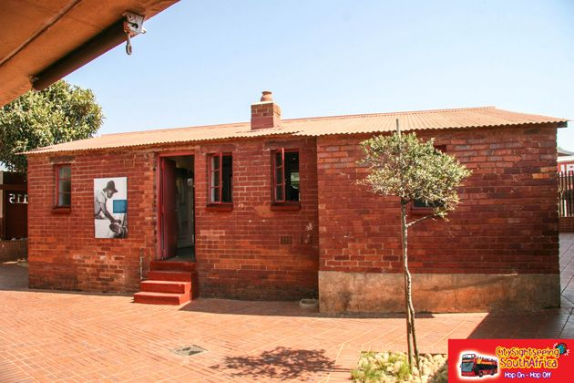 Mandela House Museum in Vilakazi Street, Soweto. Visit this museum on our Soweto Combo Tour http://www.citysightseeing.co.za/Soweto.php