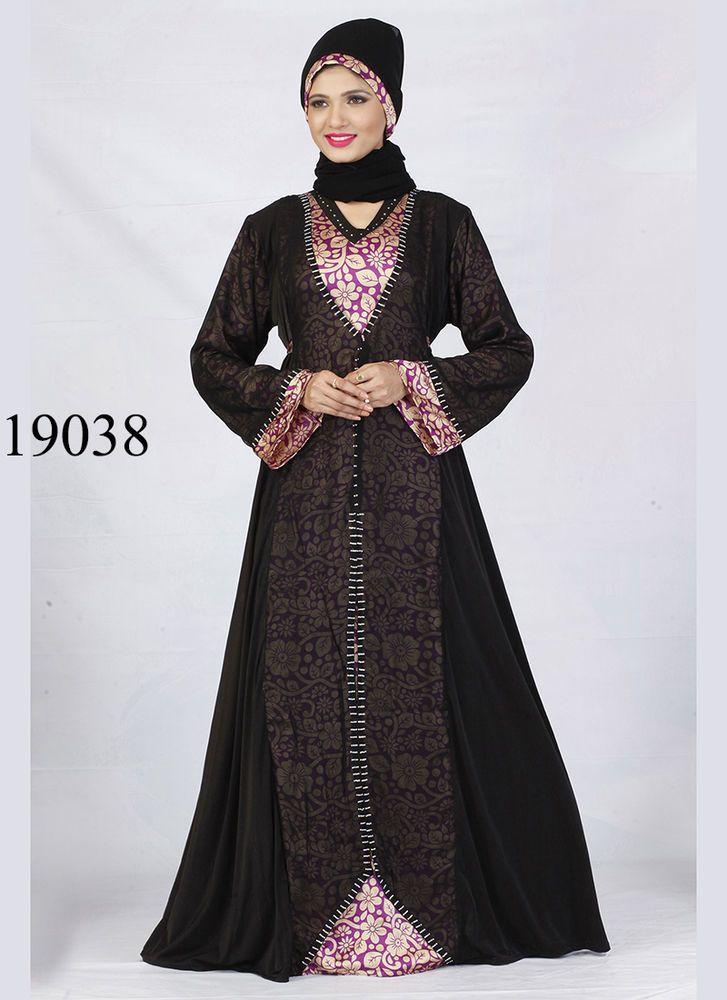 Women Readymade Jilbab abaya long Islamic hibab maxi dress kaftan wear #TanishiFashion