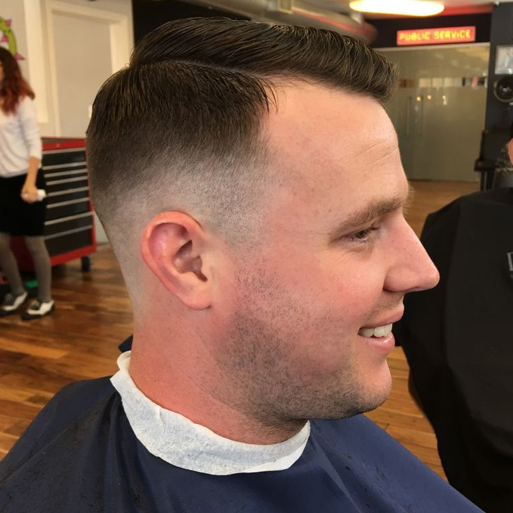 This low skin fade was done with a razor about 1/3 the way up the head and fading into about one inch of length on top. on   http://haircutsformen.org/buzzblog/wp-content/gallery/fade-haircuts-and-tight-tapers/low-skin-fade.jpg