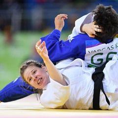 2016 Rio Olympics - Women's 70 kg Judo Germany vs Austria