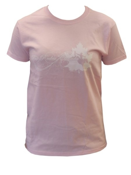 Youth CPRA Tee - Pink tee with white scroll text and CPRA screenprint on front. 100% Pre-Shrunk Cotton