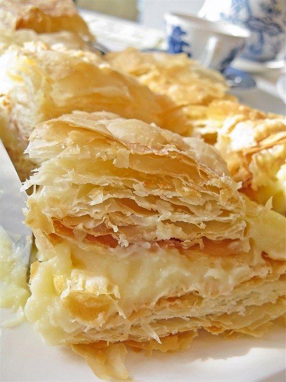 Торт «Наполеон» с апельсиновым кремом, пошаговый рецепт с фотографиями – выпечка и десерты. «Афиша-Еда»