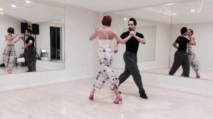 Tango Practice: Back Boleos