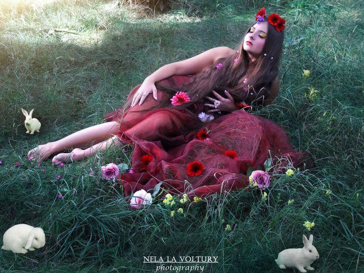 Model: Adélka  Photo by: Nela Isabella la Voltury  MUA: Nela la Voltury