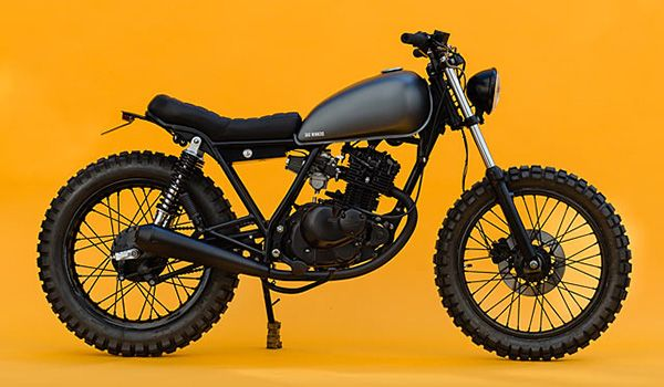 Check out this awesome custom Suzuki GN125