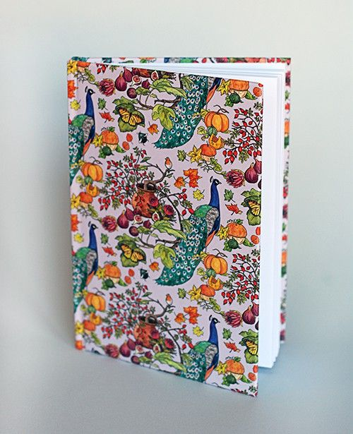 Peacock & Figs, Notebook from Scandinavian designer Lisa Edoff Design - Nordic Design Collective