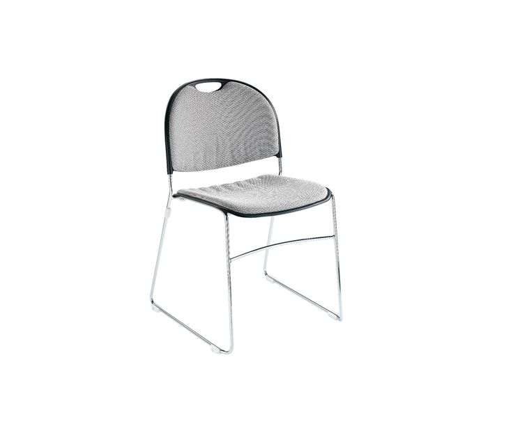 #Muzo Ultrastack chair upholstered