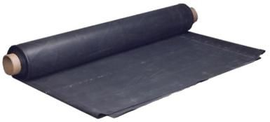 EPDM Roofing: EPDM rubber roofing comes in rolls