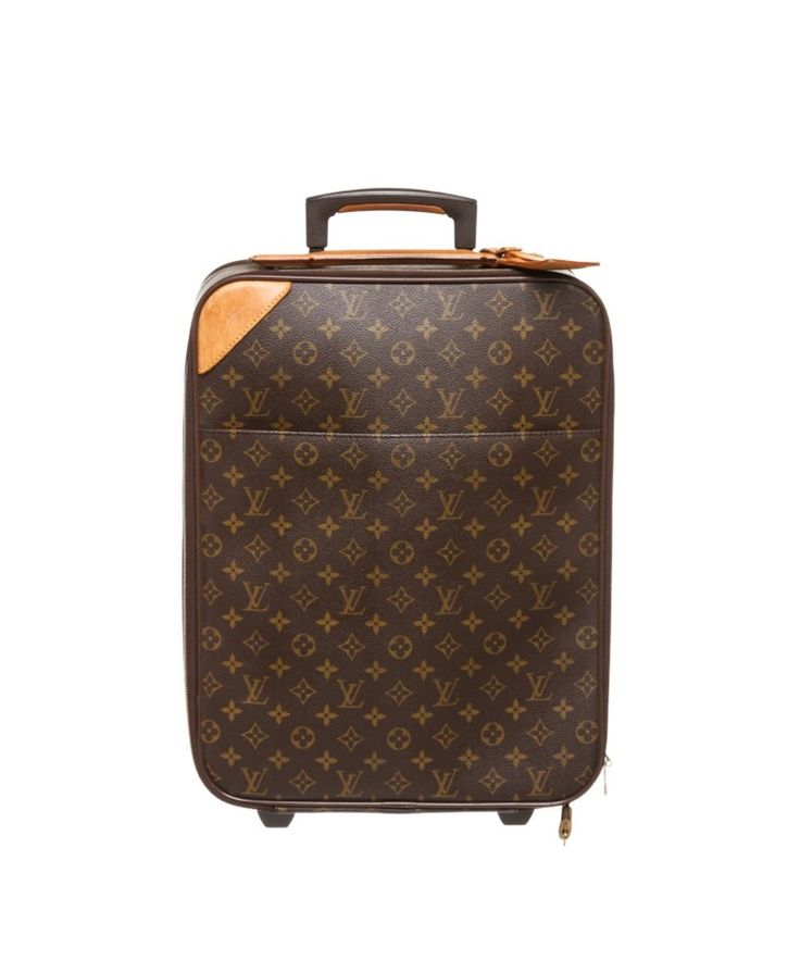 LOUIS VUITTON Pre Owned - Louis Vuitton Monogram Canvas Leather Pegase 45 Cm Luggage'. #louisvuitton #bags #leather #hand bags #canvas #lining #