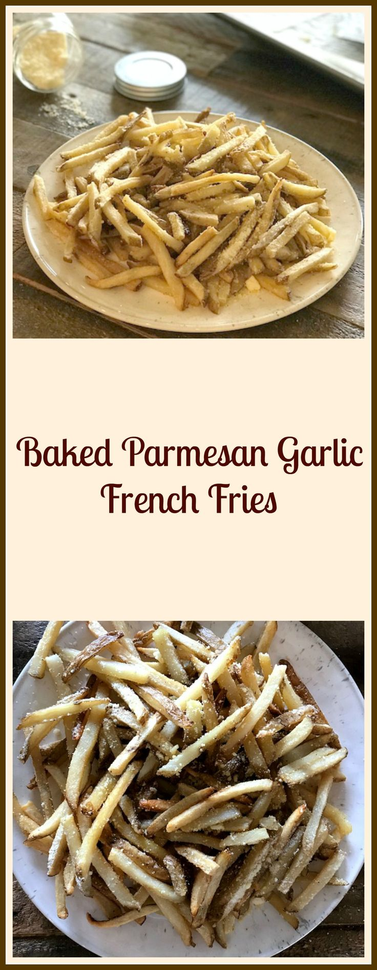 Baked Parmesan French Fries - Pams Daily Dish
