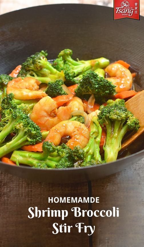 If stir fry dinners are a staple in your house, then this recipe for Shrimp Broccoli Stir Fry will become a family-favorite thanks to the bold combination of seafood, vegetables and HOUSE OF TSANG® General Tso Sauce! Plus, since you can find everything you need at your local kroger, getting this fresh dish on the dinner table is quick and easy.