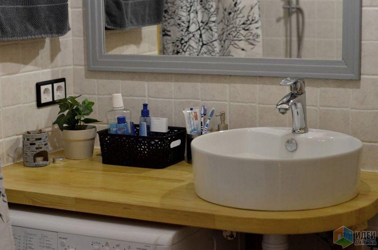 Бюджетный ремонт ванной, ремонт санузла своими руками