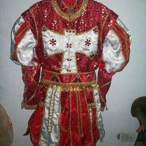 Traje de Coronación Shango.. #MiReligionEsYoruba #MffLaOsha #Oshun #Yemaya #obatala #oggun #shango #iyawo #santeros #orula #osun #agayu #oya #eleggua #oshosi #Creaciones #Siguenos #DiseñoVenezolano #maracay #VentePorEncargos