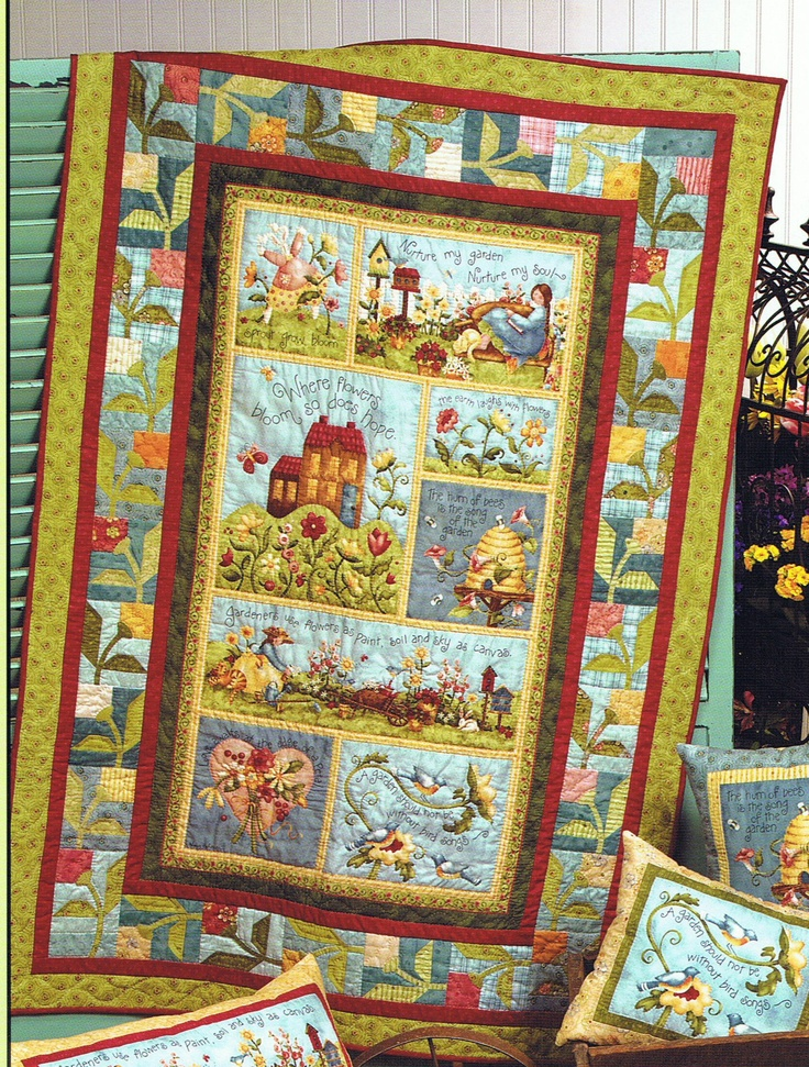 1000 Images About Quilts Panel Quilts On Pinterest