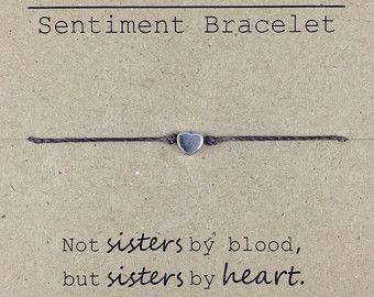 Sister Beaded Bracelet Gift for Sister Sister by InaLeiDesigns                                                                                                                                                                                 More