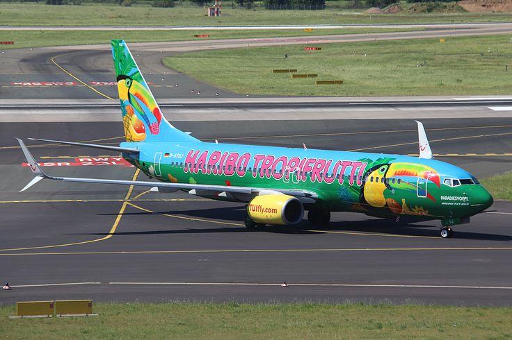 https://flic.kr/p/TZVq9u   D-ATUJ B737-800 TUI fly (Haribo Tropifrutti livery) DUS   27/05/2017