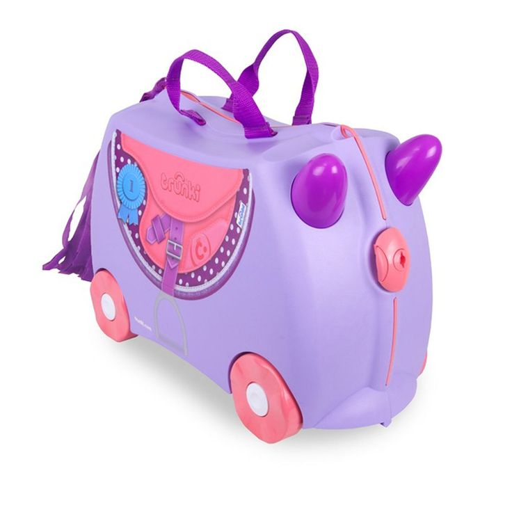 Trunki Bluebell Pony Ride On Suitcase - Buy Online Childrens Luggage