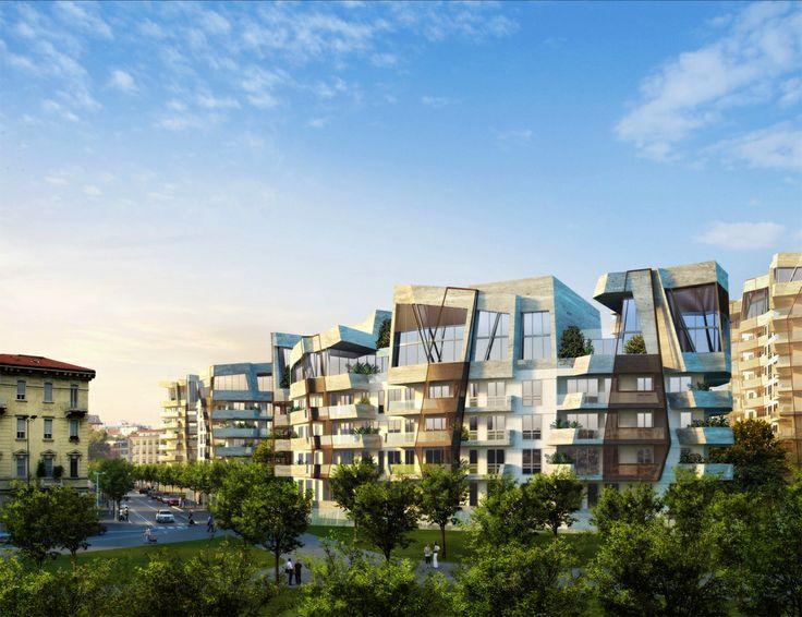 Milano CityLife Daniel Libeskind  (ph. Milena Chessa / Le Moniteur.fr)