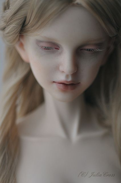 Miss Polly had a Dolly.  This is just stunning!  Artist?