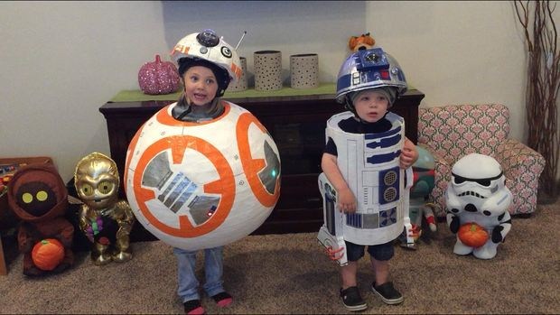 Star Wars fans of any age could dress up in these fun costumes.