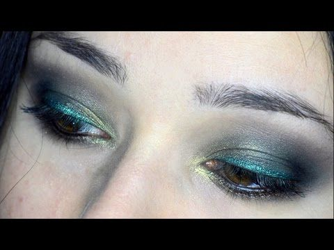 Makeup Tutorial All Green Everything, smokey e labbra verdi!Makeup Tutorial All Green Everything, smokey e labbra verdi!