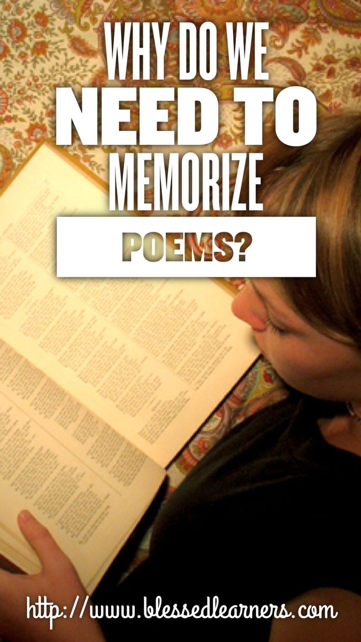 151 best poetry images on pinterest teaching poetry english 10 reasons to memorize poems sciox Choice Image