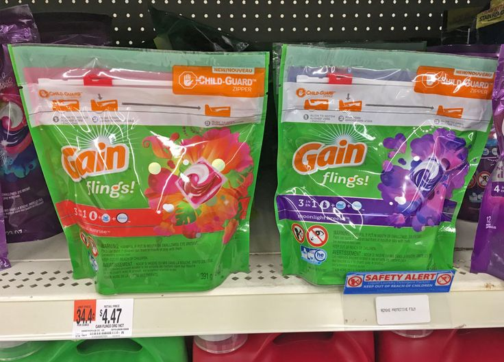 Tide Pods & Gain Flings, Only $2.47 at Walmart--Starts 11/27!