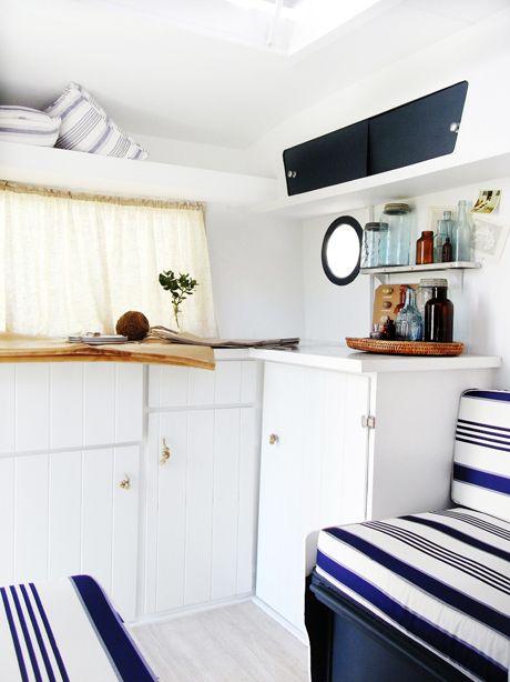 45 best franklin caravan images on pinterest caravans - Interior caravana ...
