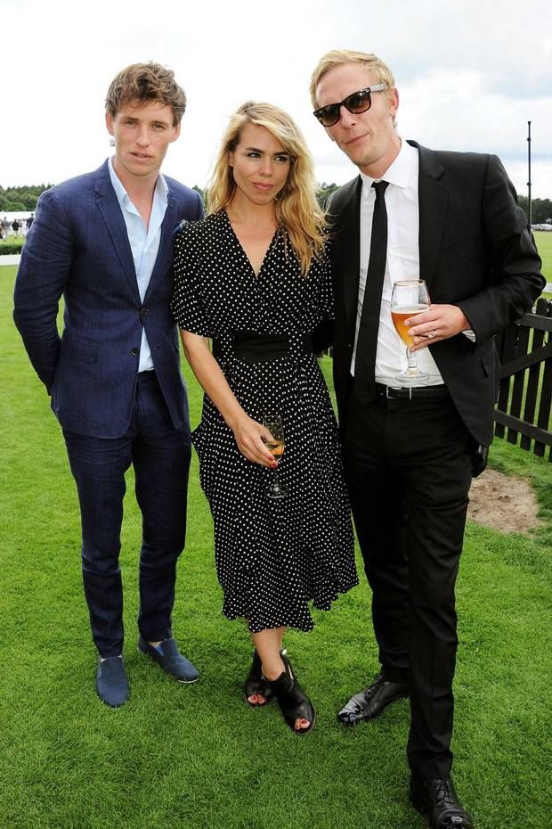 Eddie Redmayne, Billie Piper, and Laurence Fox
