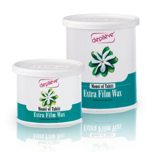 Depileve Monoi Of Tahiti Extra Film Wax - ceara verde perlata Monoi Of Tahiti 400g
