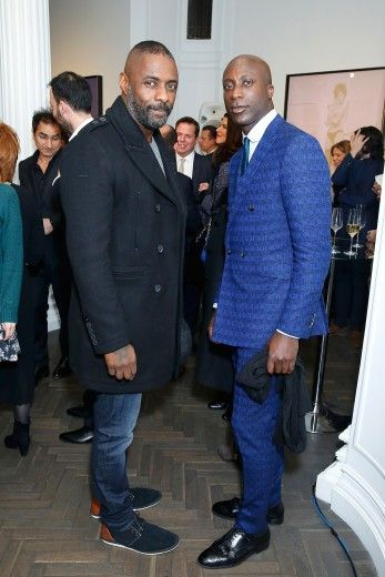 Idris Elba and Oswald Boateng