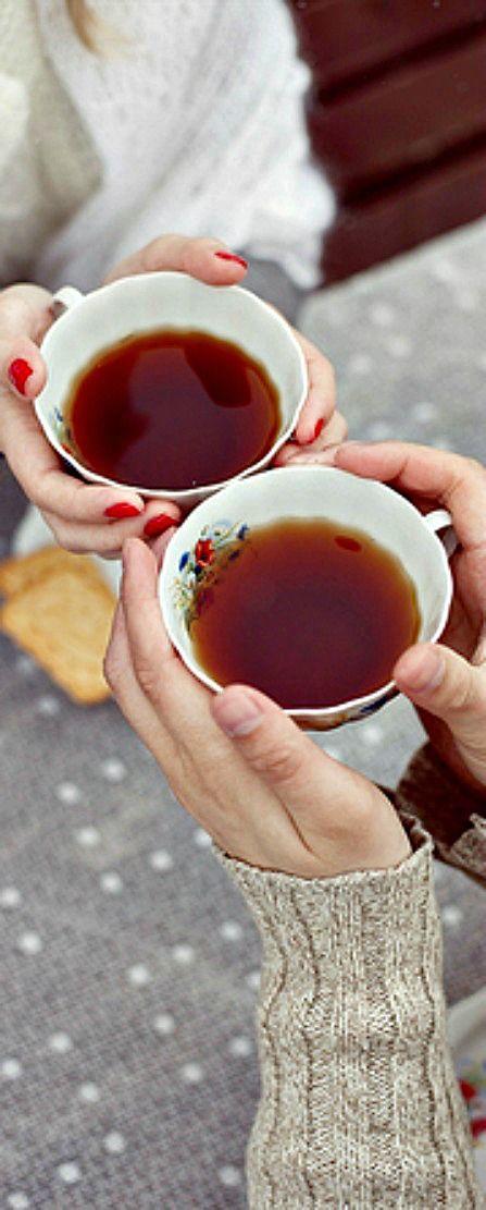 Russian romantic tea party