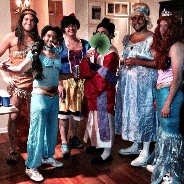 Pin for Later: 37 Creative Disney Princess Group Costumes Male Disney Princesses