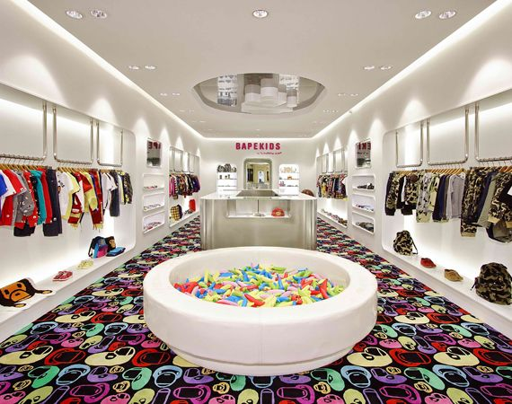 BAPE KIDS Store Opens in Hong Kong