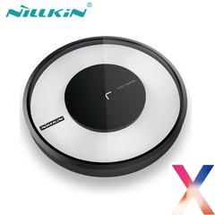 NILLKIN Fast Wireless Charger for Apple iPhone X LED Lights Qi Standard Charging Pad Universal for iPhoneX