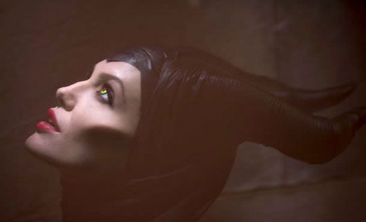 Angelina Jolie as the wicked witch in upcoming #Disney movie Maleficent. #movies