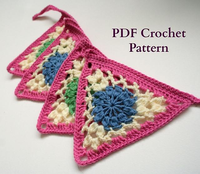 Bunting Crochet Pattern
