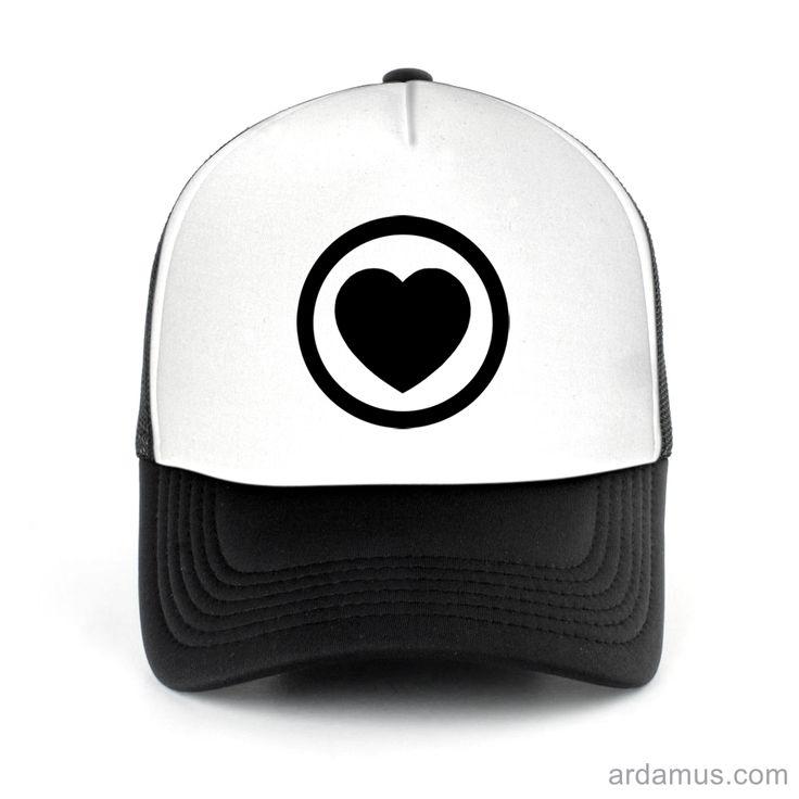 A State Of Trance Heart Trucker Hat for men or women. Available color black, red, pink, green. Shop more at ARDAMUS.COM #djtruckerhat #djcap #djsnapback #djhat