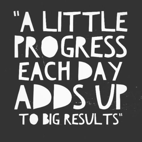 Beau Please Like Monday Morning Inspiration. Small Acts Of Progress Can Lead To  Massive Results.