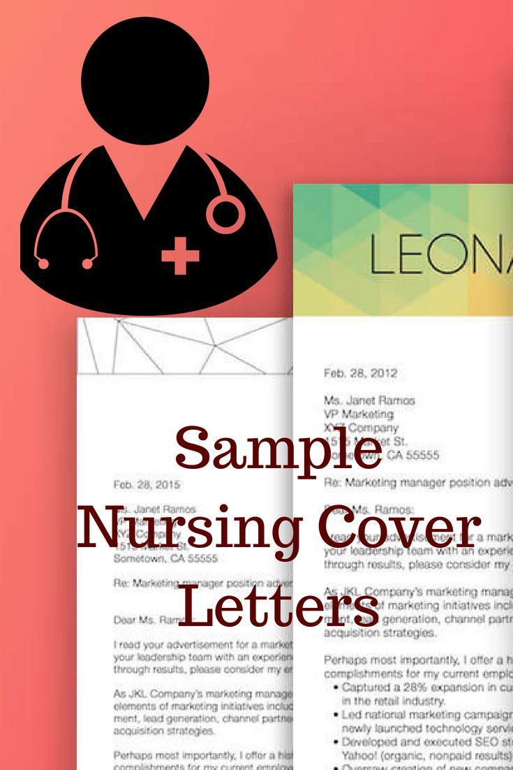 Sample Nursing Cover Letter For Fresher And Experienced Coverletter