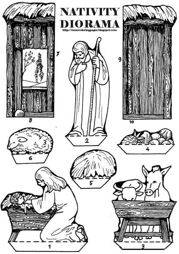 109 best images about nativity on pinterest for Nativity coloring pages with scripture