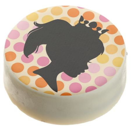Dots Black Silhouette Princess Dipped Oreos Chocolate Dipped Oreo